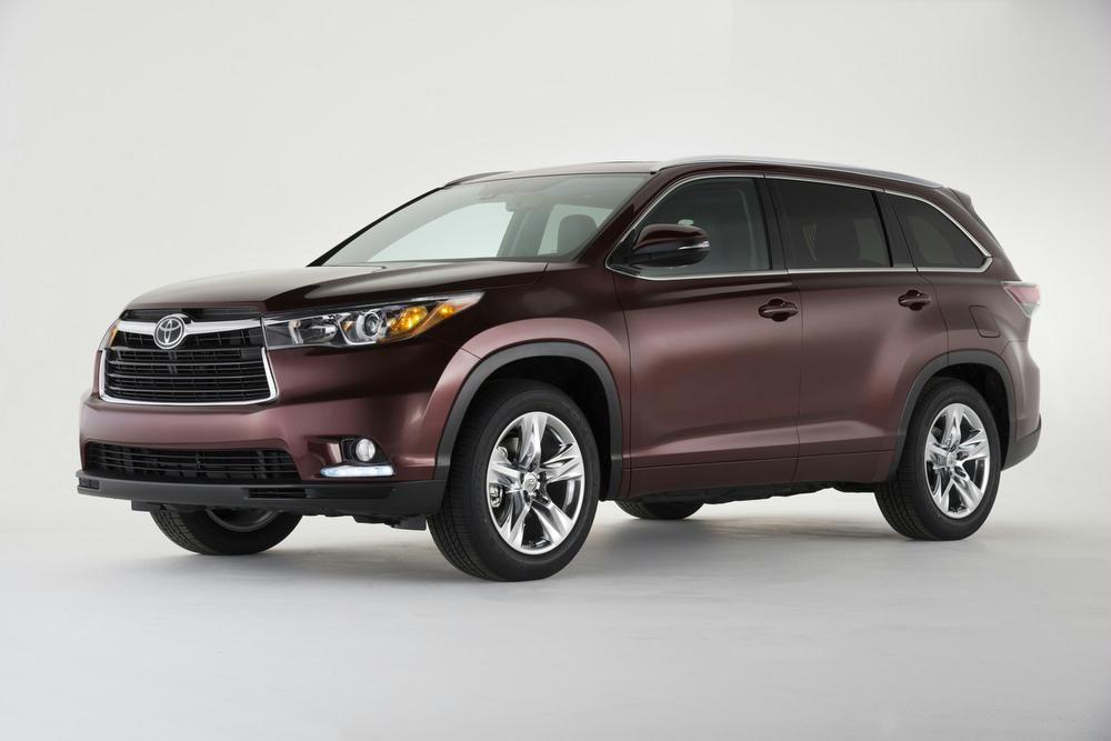 The Redesigned 2014 Toyota Highlander Is Almost Here How Do You