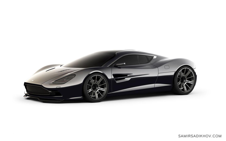 2013 Aston Martin Dbc Concept Design By Samir Sadikhov White Background 1 1440x900 Wallpaper Aston Martin Concept Cars Super Cars