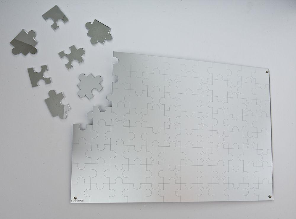 Webmobili ~ Specchio infrangibile in plexiglass. specchio puzzle. prezzo 60