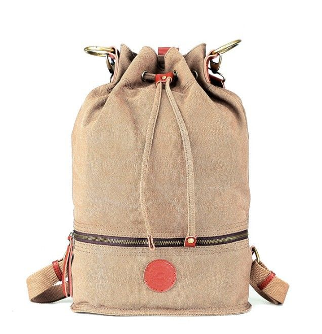 Canvas drawstring backpack from Yep Bag. | Backpacks & Such ...
