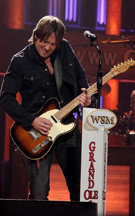 Keith Urban Gets Inducted Into The Grand Ole Opry