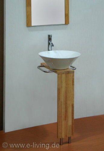 Design Bad Becken Waschtisch Waschbecken Mit Unterbau 8215 Keramik NEU OVP