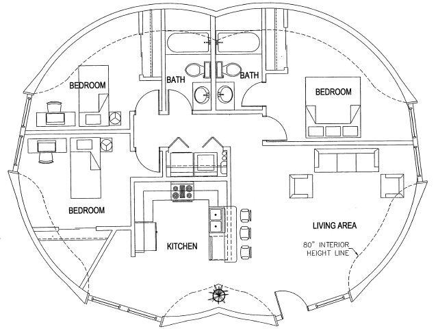 dome floor plans | images: dome home for sale in italy, texas