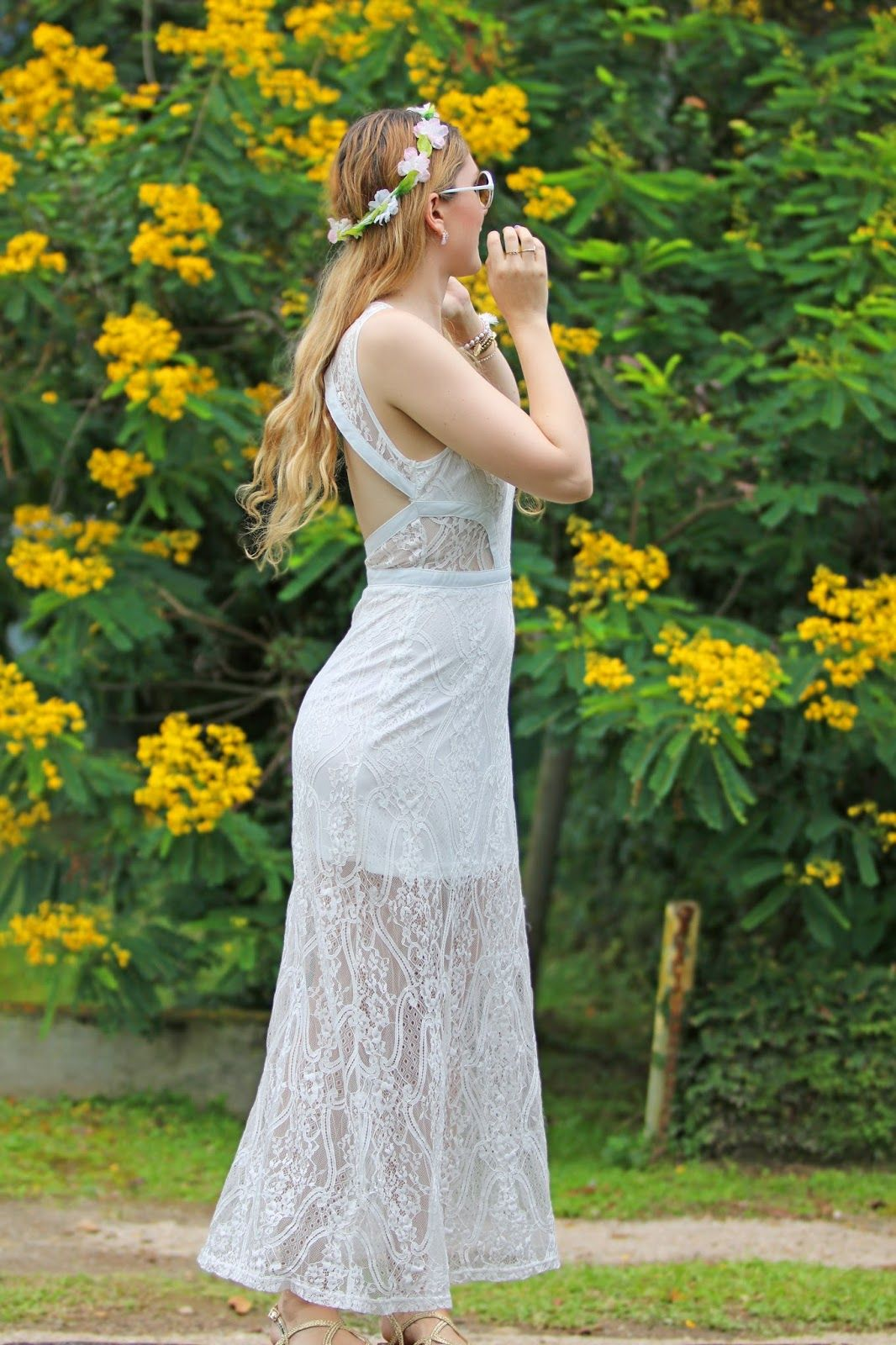 Pretty Flower Crown Outfit Wedding Pinterest Flower Crown