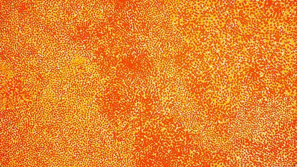 Extra large art for those with an extra large heart!  MB032584 Artist: Polly Ngale Title: Anwekety Size: 270 x 150cm