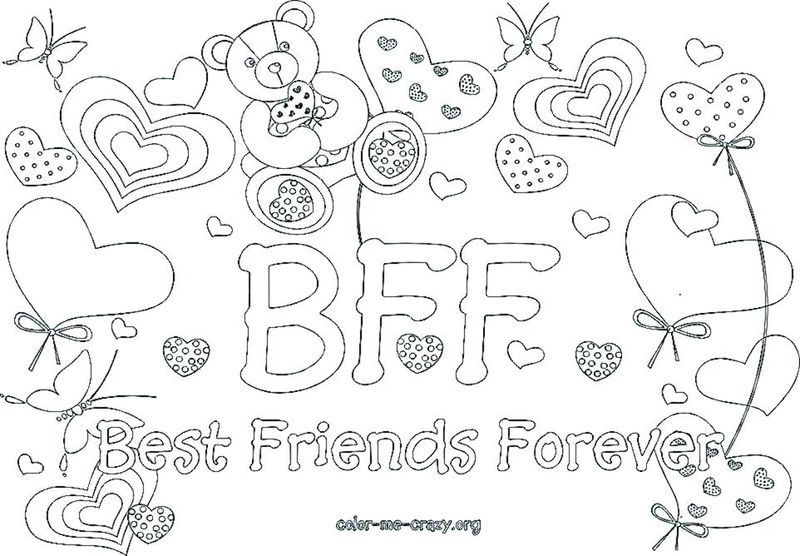 Best Friend Coloring Pages Teens Coloring Pages For Girls Heart Coloring Pages Coloring Pages