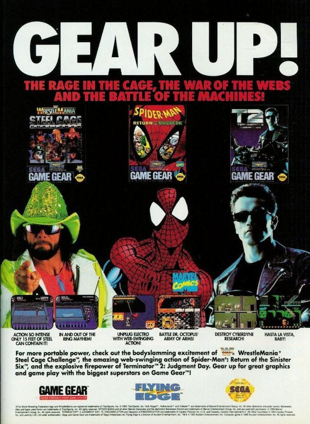 90's video game magazine ads - Google Search | Retro Gaming | Video