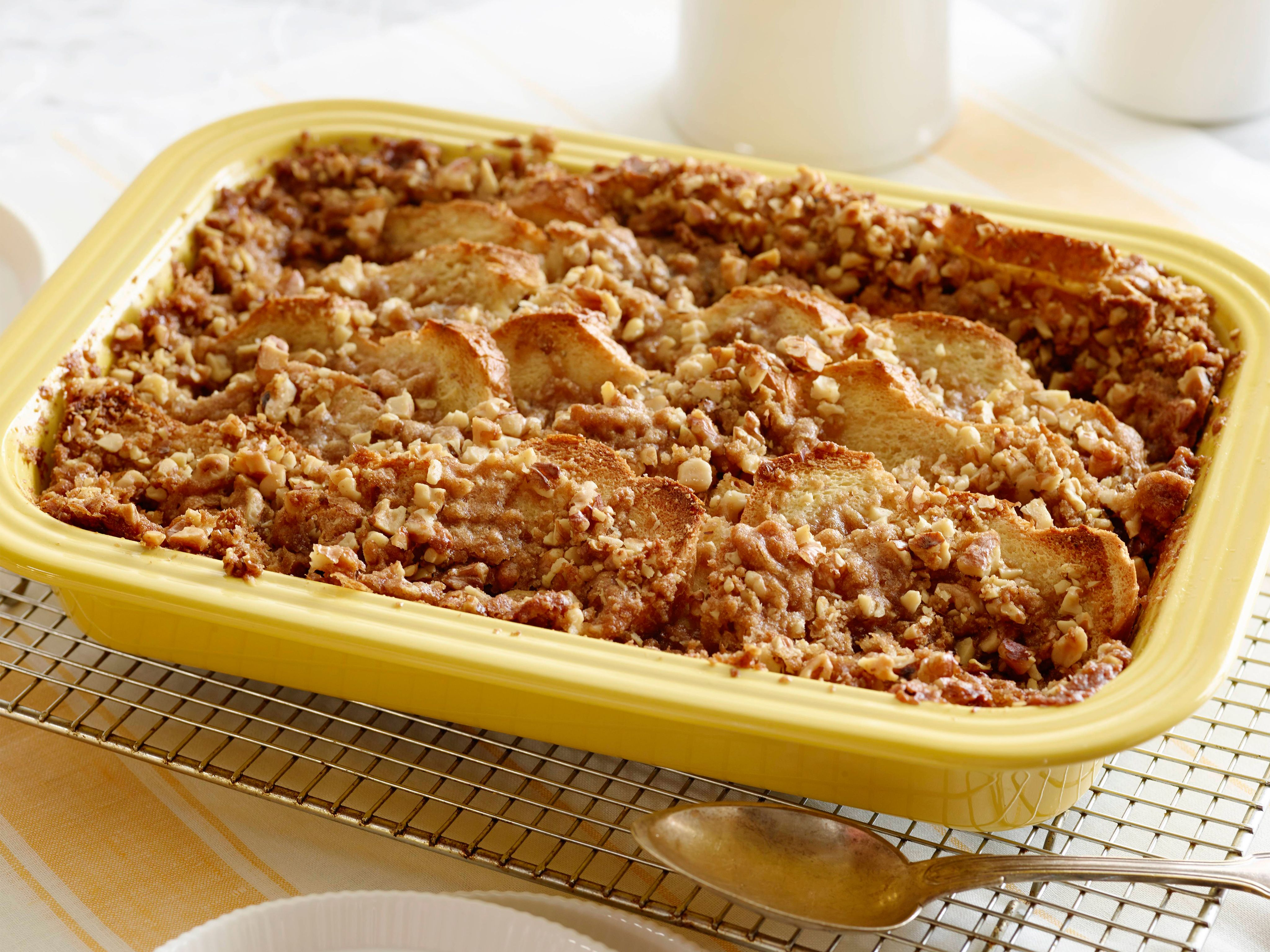french toast casserole with brown sugar walnut crumble recipe