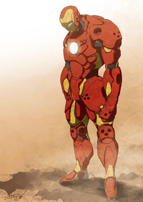 Ironman Almost Superhero Art Iron Man Marvel Iron Man