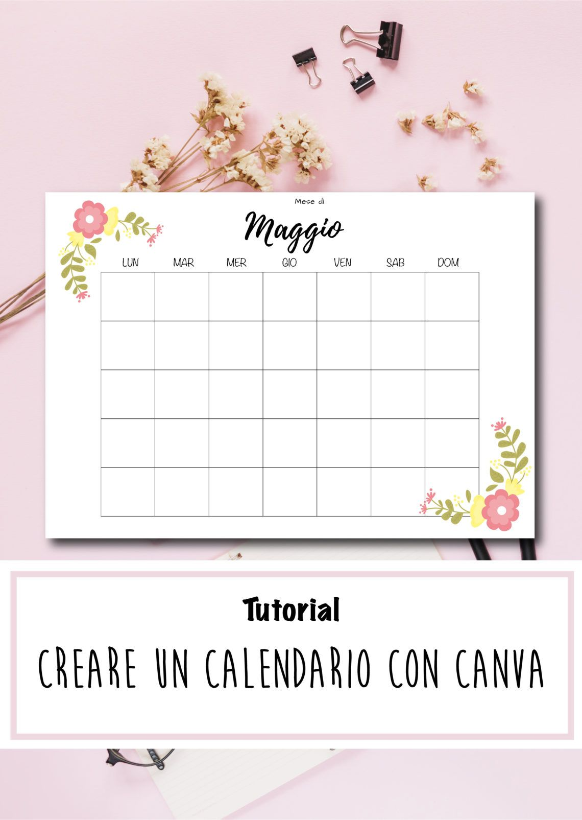 Come Creare Un Calendario 2021 Come creare un calendario per Planner con Canva   Scripta Manent