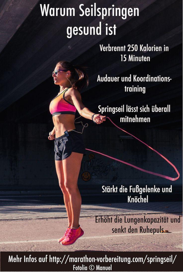 Warum Seilspringen gesund ist und Teil deines Lauftrainings oder deiner Marathon-Vorbereitung sein s...