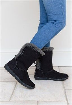 Pixie Becky, Ladies Boots, Black