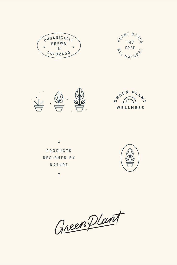 10 planting Logo branding ideas