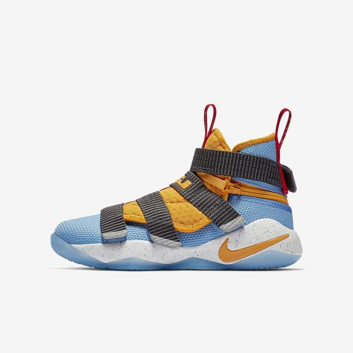 online store 01e80 f1b21 Nike Big Kids' Basketball Shoe LeBron Soldier 11 FlyEase ...