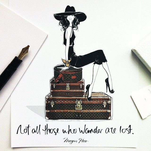 'Not all those who wander are lost'....one of my favourite quotes by J.R.R Tolkien. In fact, I think it's pretty great to get lost every now and again!
