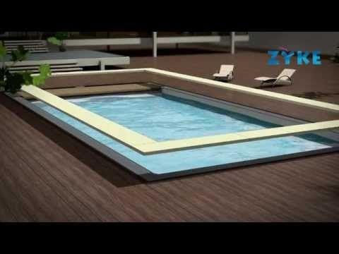 piscine bois rectangulaire zyke