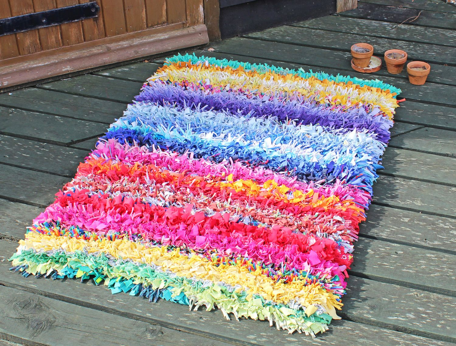 Ragged Life Rag Rug Of The Month