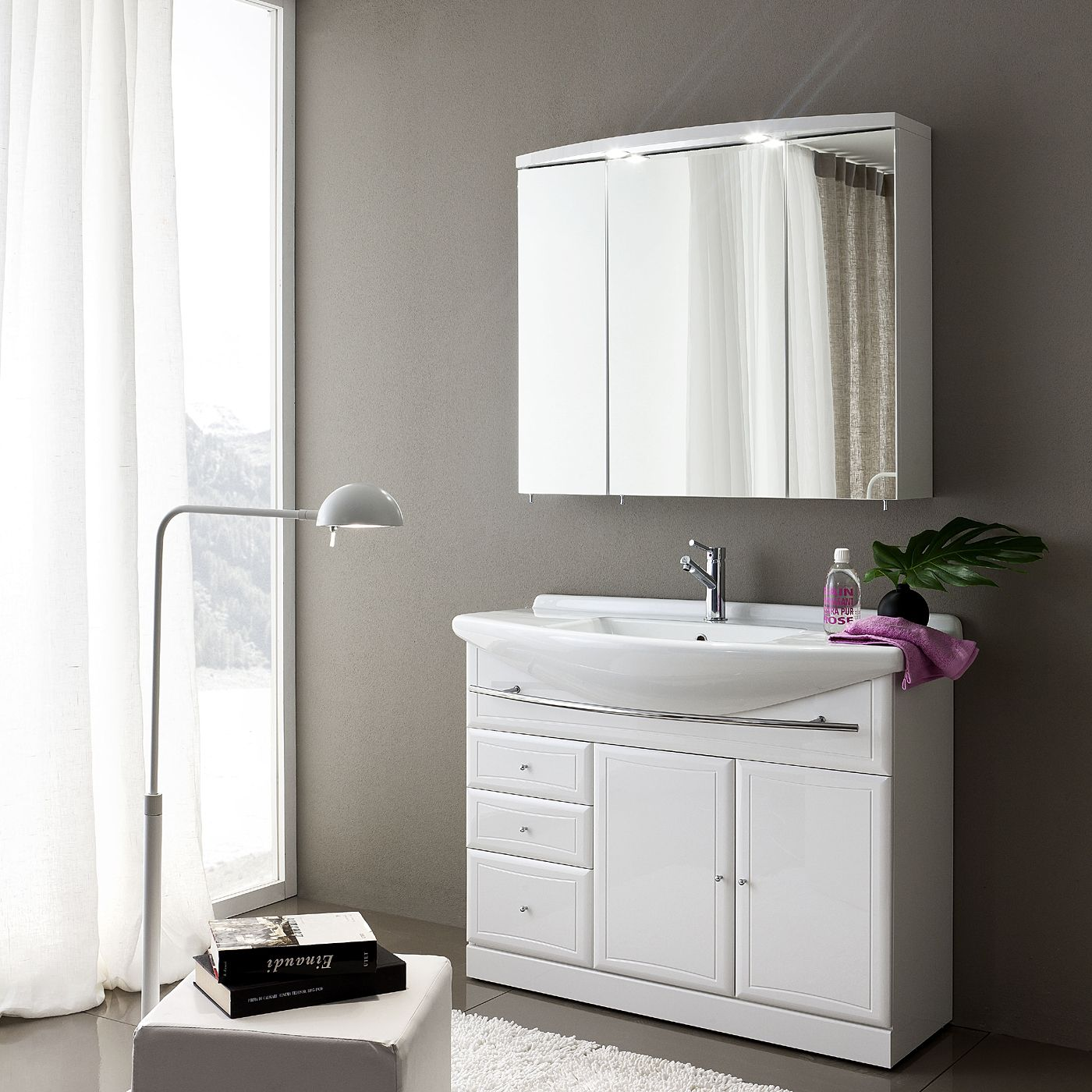 Shop Acquaviva  9SP6810 Archeda Mirror Medicine Cabinet, White at ATG Stores. Browse our medicine cabinets, all with free shipping and best price guaranteed.