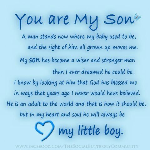 Beautiful I Am So Proud Of You Son Quotes