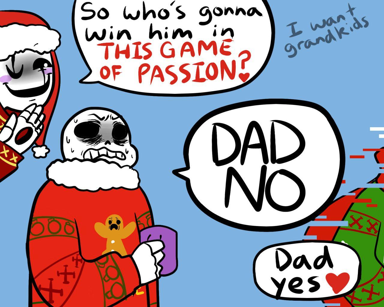 Christmas Party Au Comic.The Chris T Mas Party Au Undertale Undertale Comic