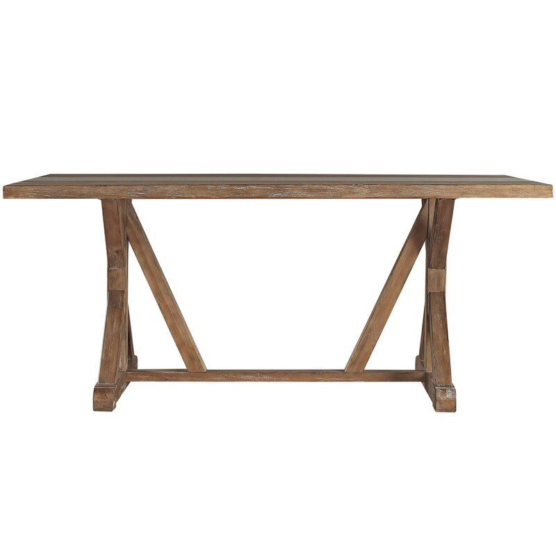 Oshea Dining Table In 2020 Trestle Dining Tables Concrete