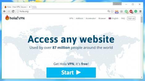 Hola Vpn Plus Review Pc Network Proxy Server Virtual Private Server