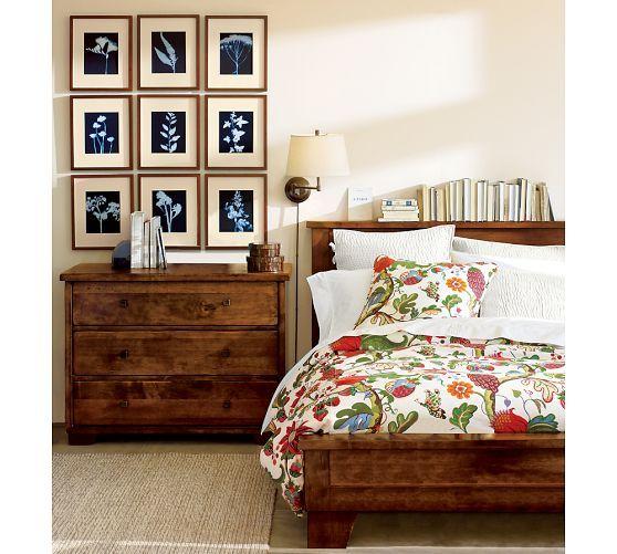 Bedroom Sets Pottery Barn sumatra bed & dresser set | pottery barn | decor - pottery barn