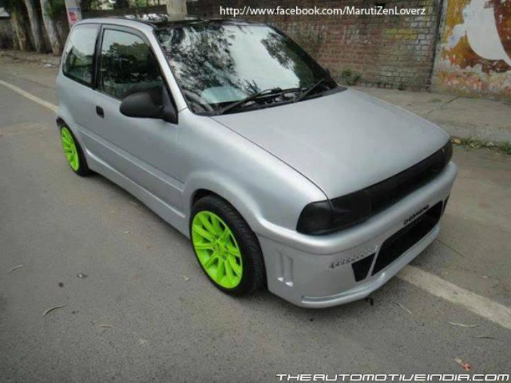 India S Best Modified Maruti Zens Part Ii Rides Pinterest