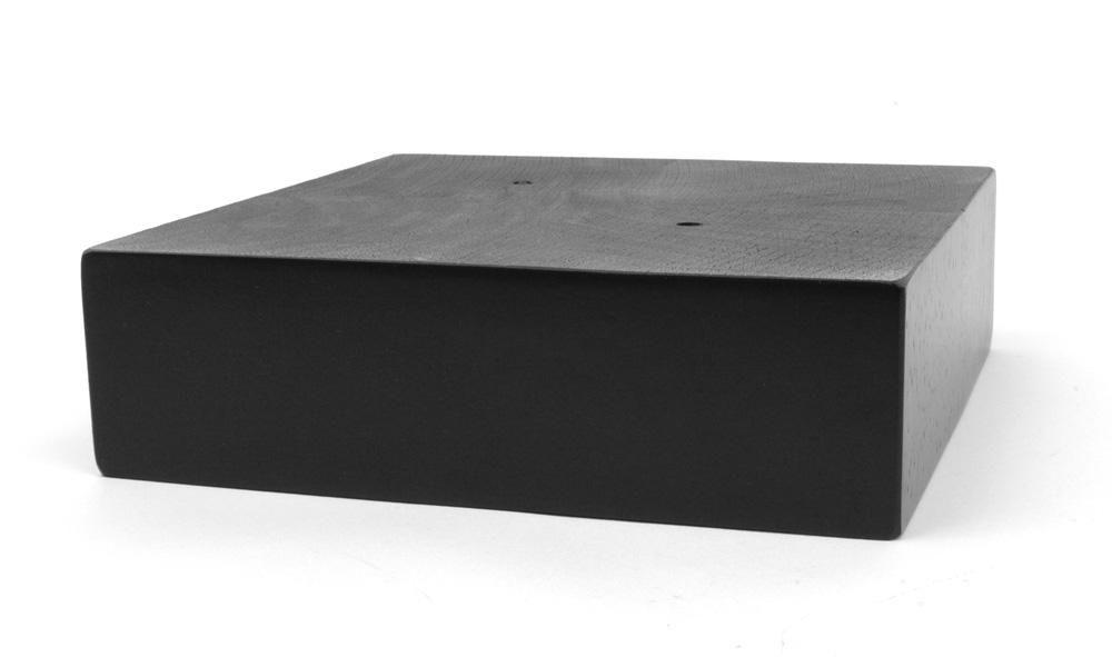 Black Finish Square Sofa Leg