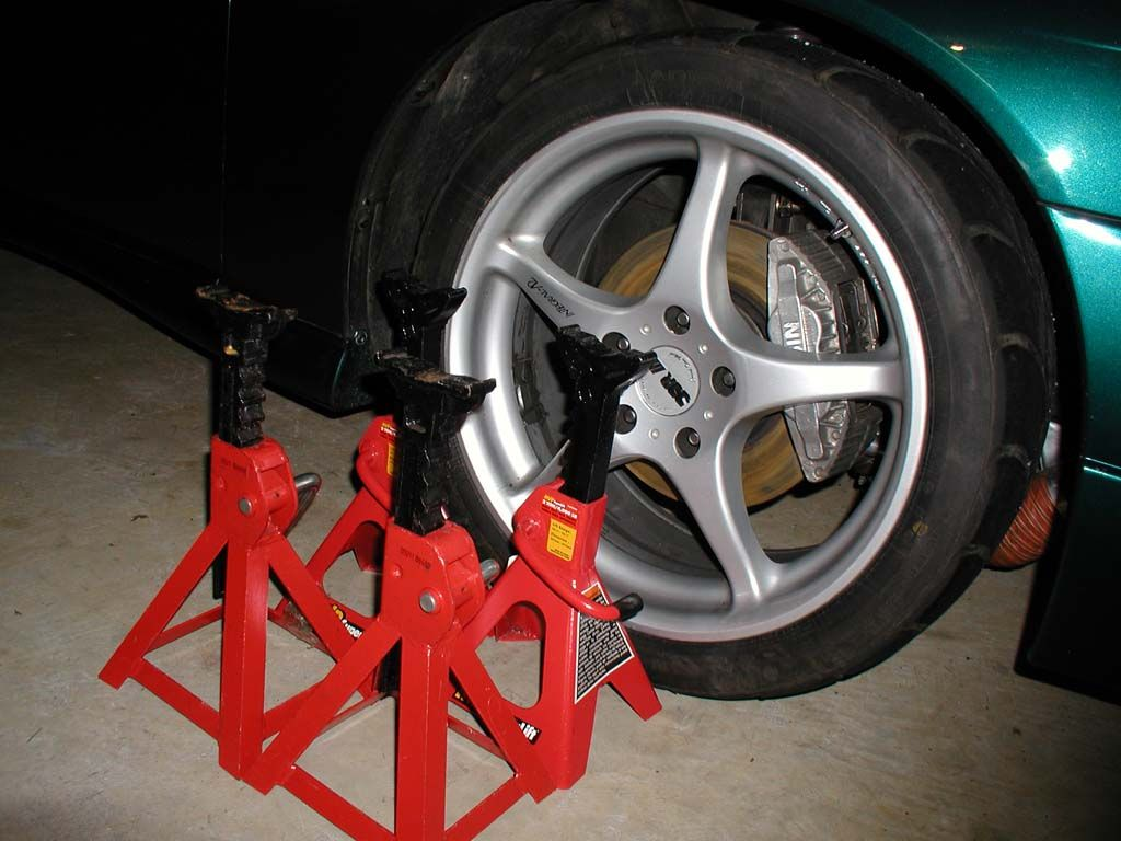 Do It Yourself Alignment Tips Tools Needed Jack Stands