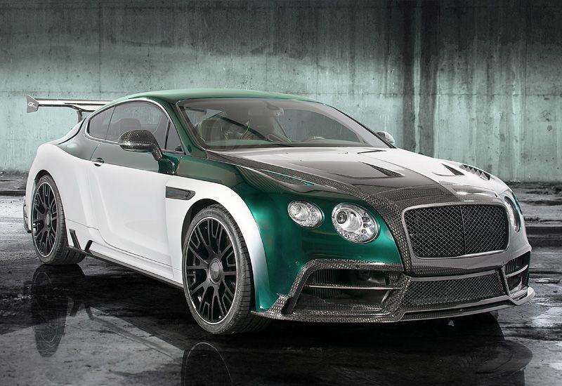 Beautiful 2015 Bentley Continental GT Race Mansory