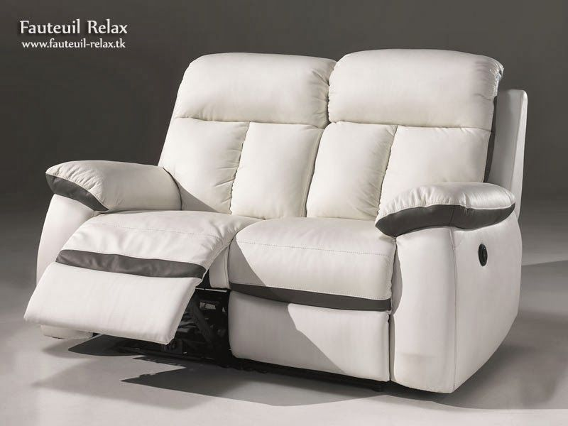 fauteuil relax lectrique cuir blanc fauteuil relax pinterest. Black Bedroom Furniture Sets. Home Design Ideas