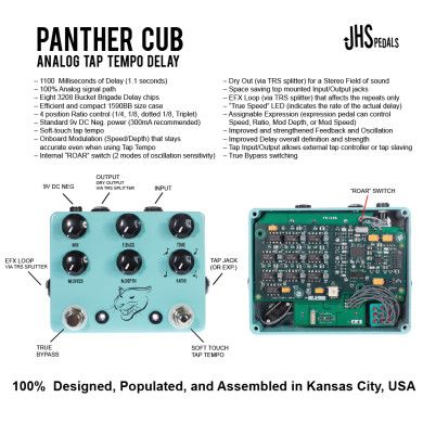JHS Pedals Panther Cub Delay