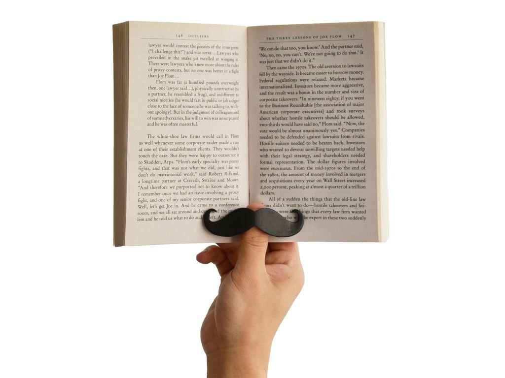 Book Mustache