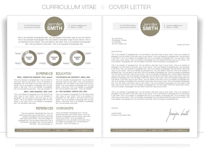 Cv Cvtemplate Coverletter CvWordTemplate  Cv Templates