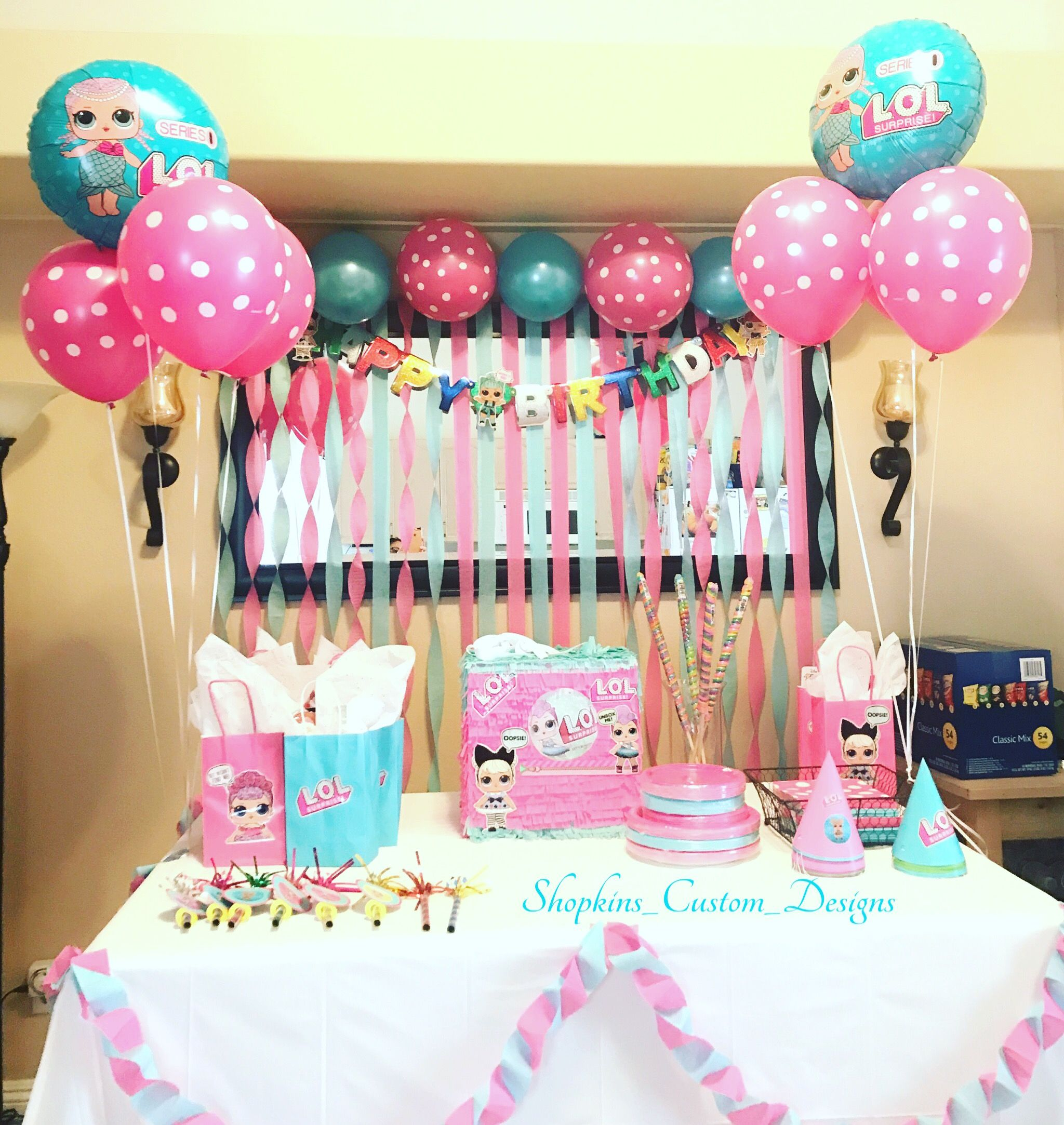 L.O.L Surprise Birthday Party