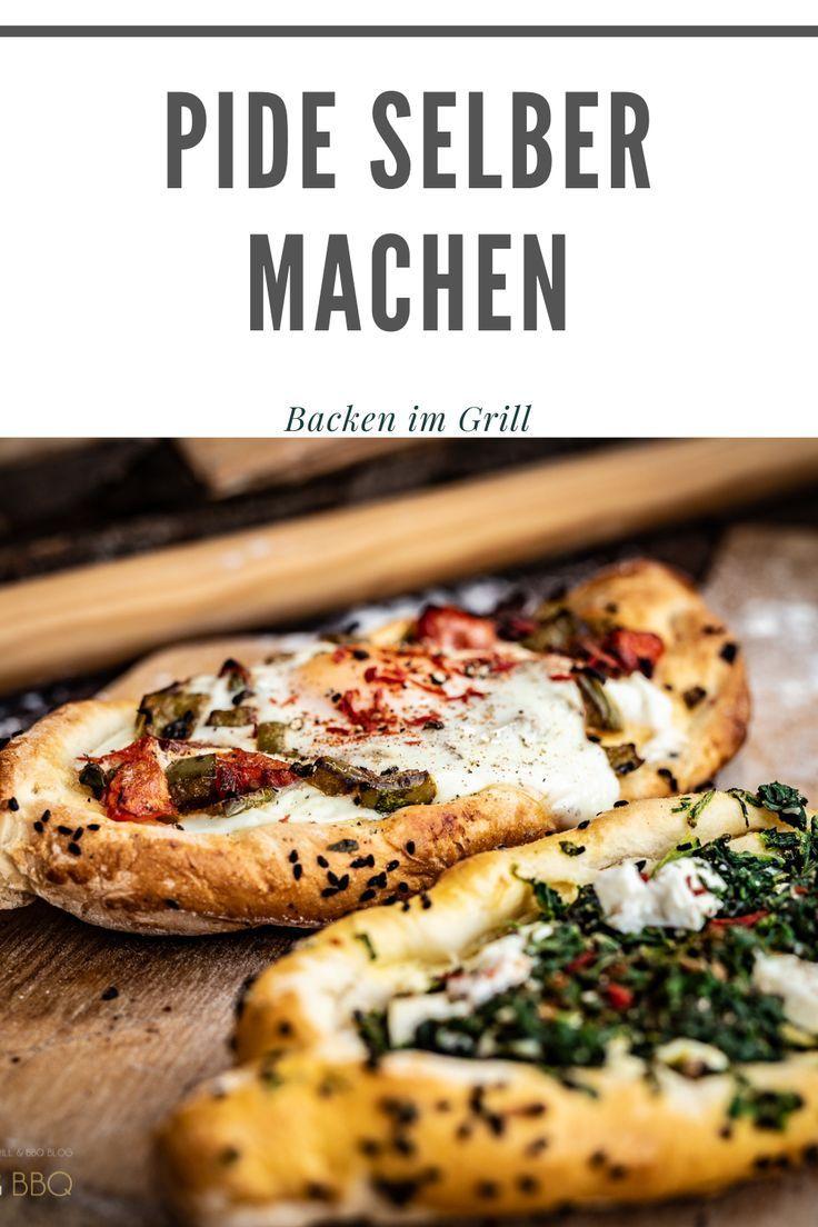 Pide selber machen – Türkische Pide vom Pizzastein im Grill