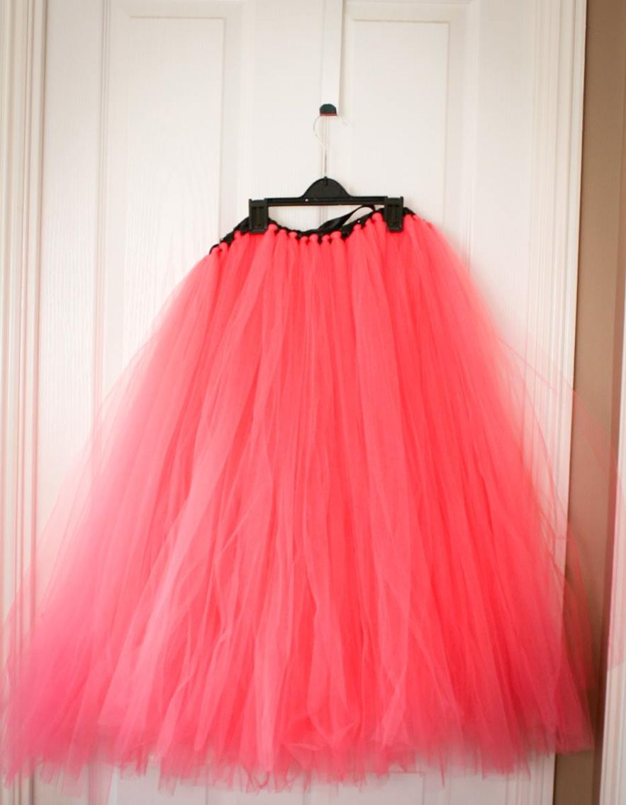 Tulle skirt tutu made by a local lady who usually does kids stuff