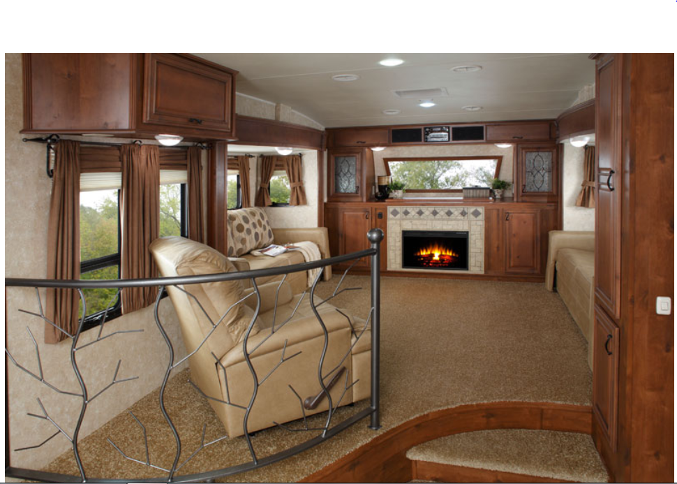 Best 25 fifth wheel living ideas on pinterest camper - Front living room fifth wheel used ...