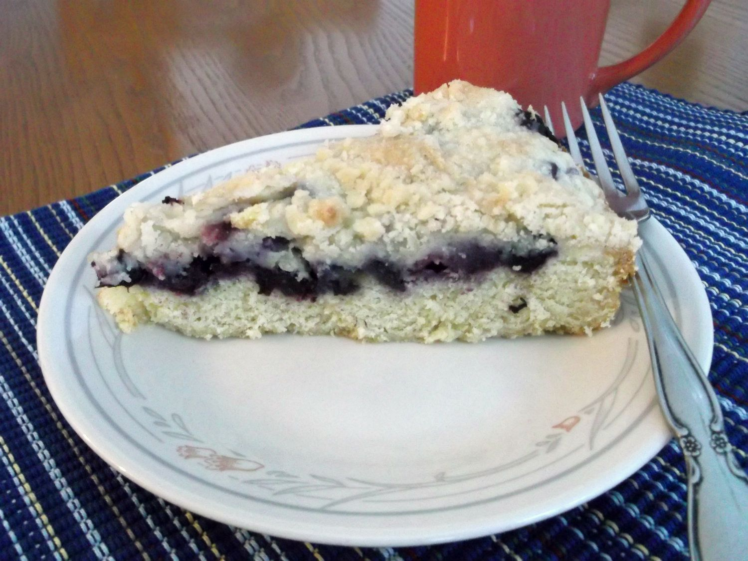 Words Of Deliciousness: Blueberry Kuchen