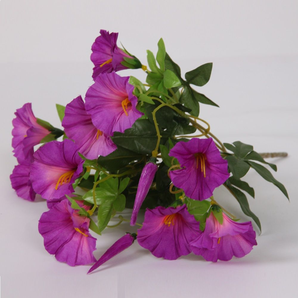 Wholesale Silk Artificial Morning Glory Artificial Flower