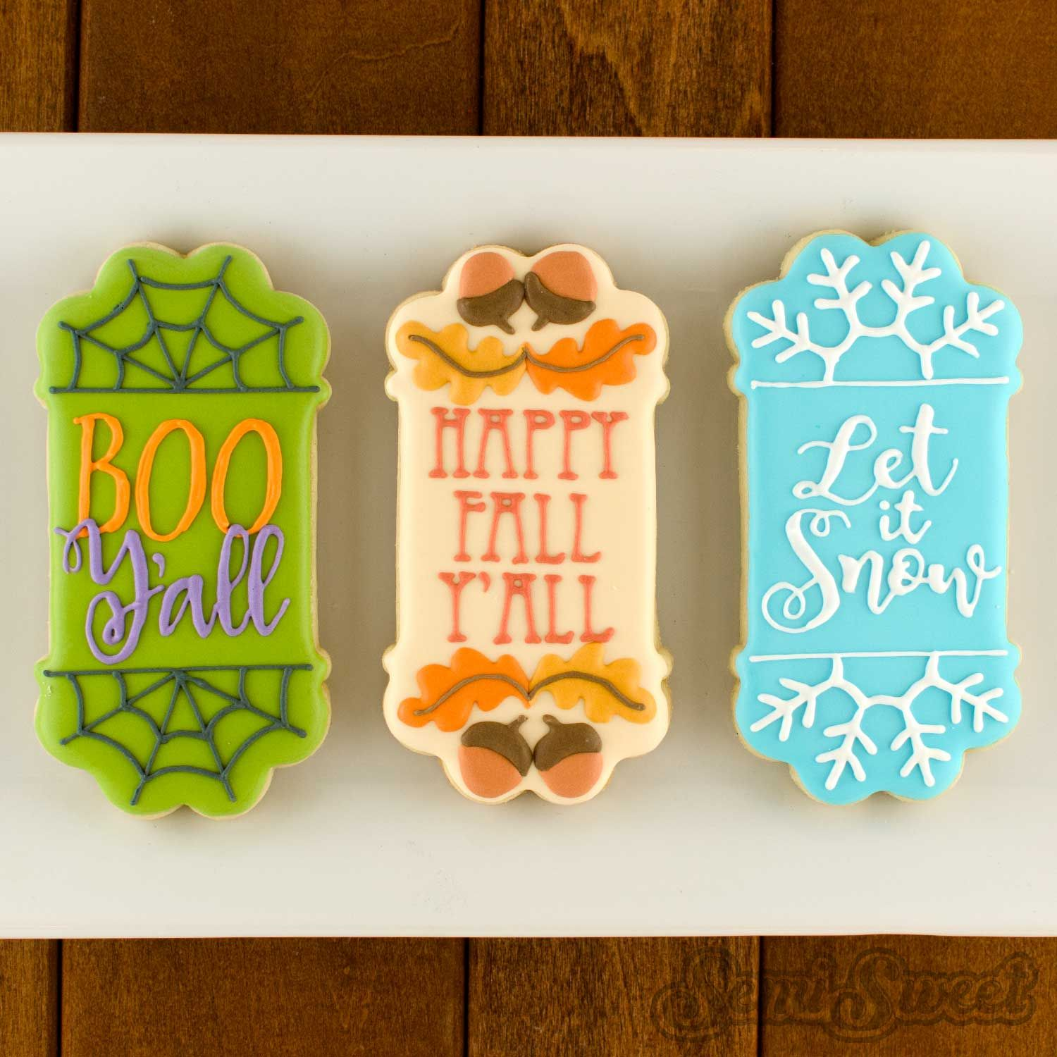 cookie thin header-footer plaque example