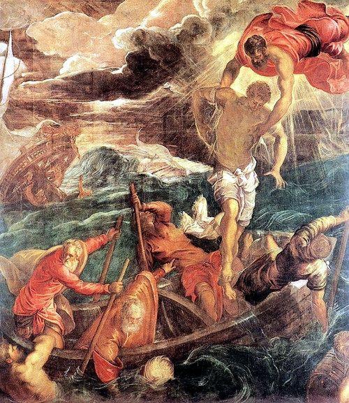 St Mark saving a Saracen from shipwreck
