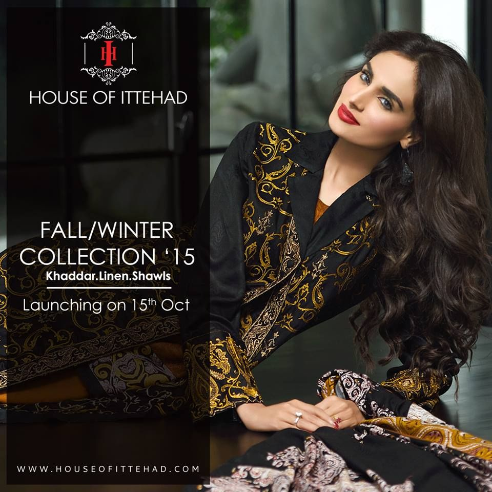 HOUSE OF ITTEHAD FALL/WINTER COLLECTION '15 FOR GIRLS