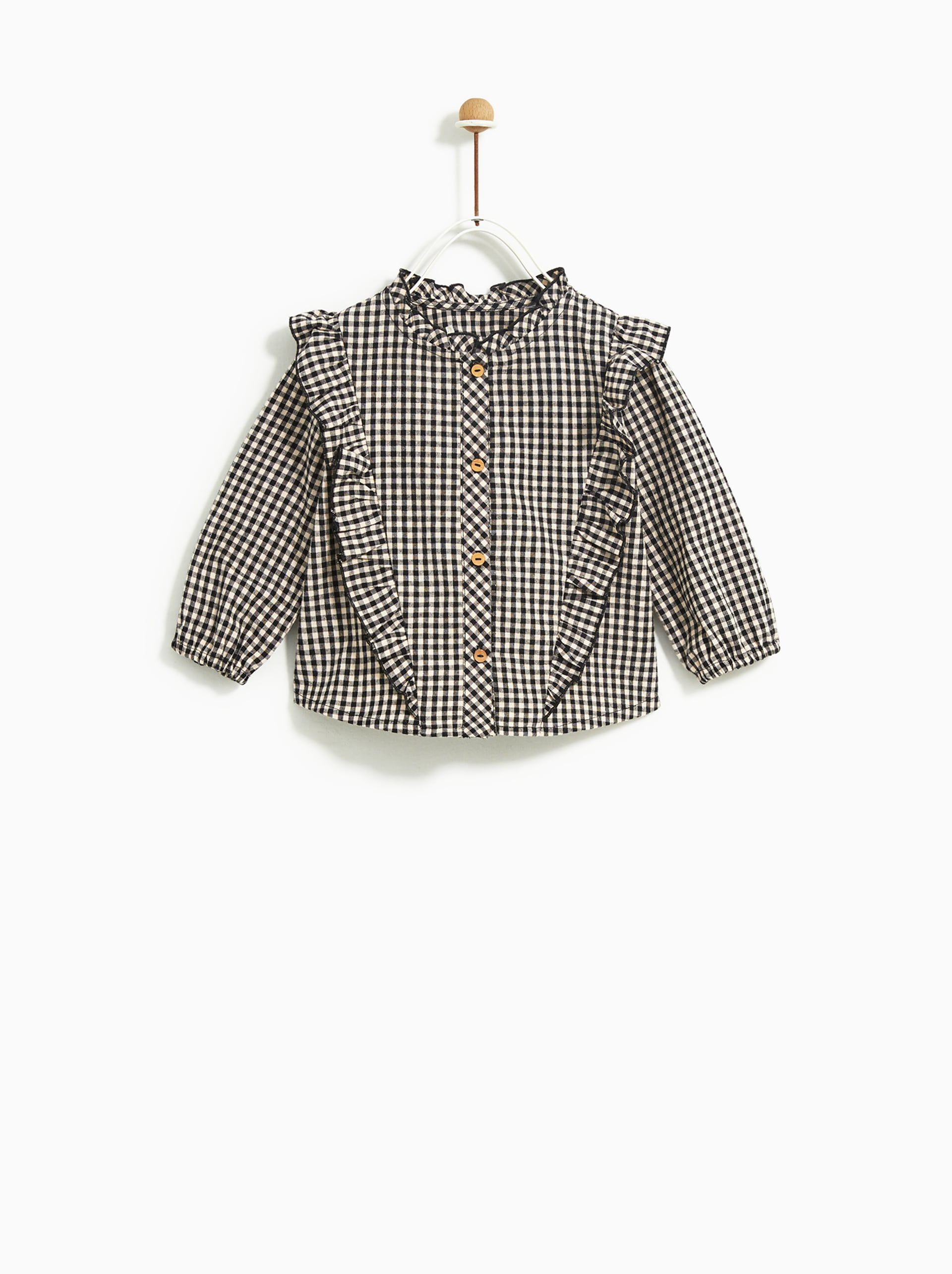 Plaid Shirt Kids Fashion Girl Outfits Baby Clothes Patterns