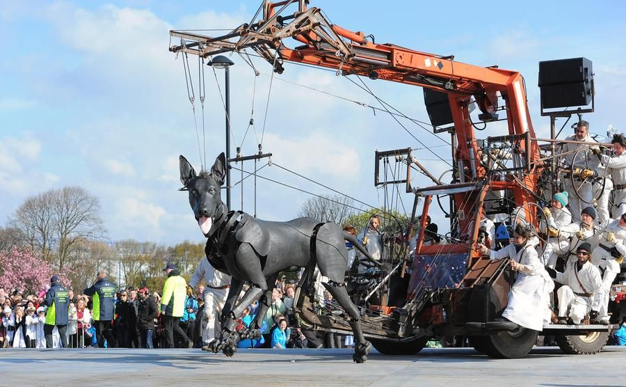 The Giant Marionettes of Royal de Luxe