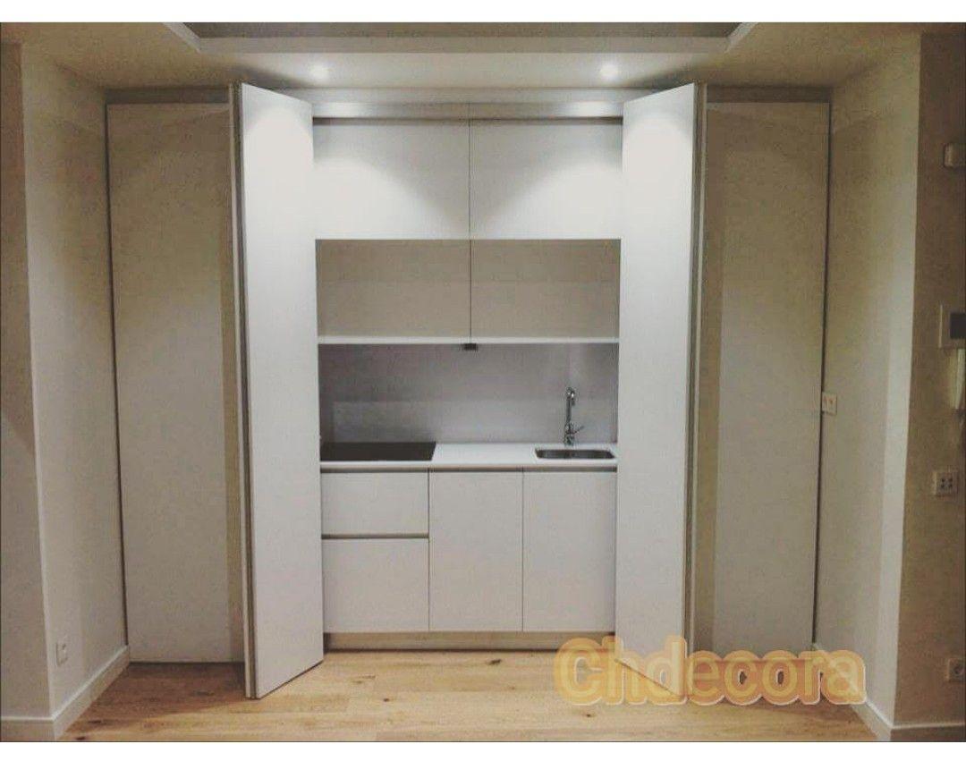 Puertas Escamoteables Para La Cocina Ideal Para Apartamentos Y