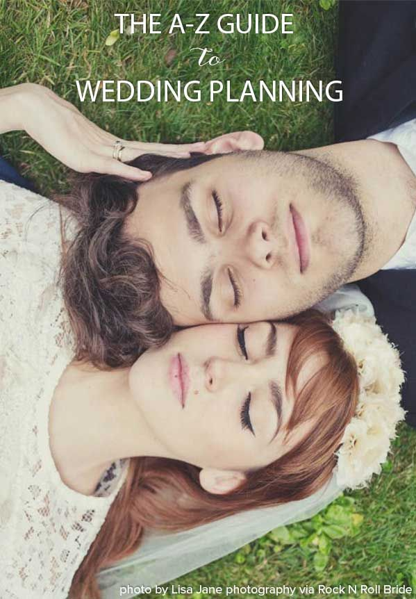 wedding planning checklist spreadsheet free%0A AZ Guide to Wedding Planning