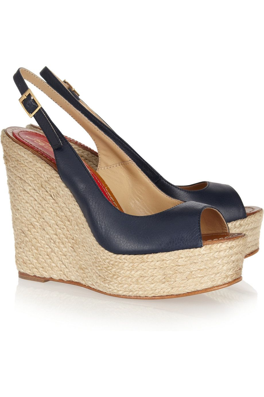 Barceló Wedge Espadrille Paloma Now Leather Sandals At 50Off The cq34Rj5ALS