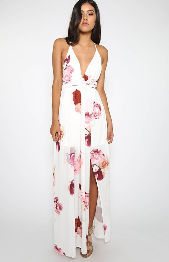 Ray Of Light Dress - Floral